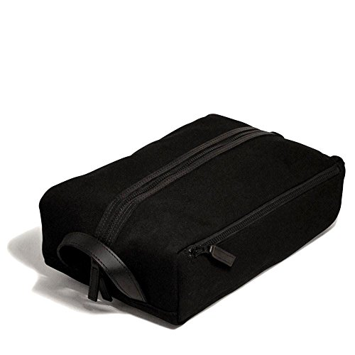 Jack Georges Canvas Shoe Bag Black by Jack Geroges