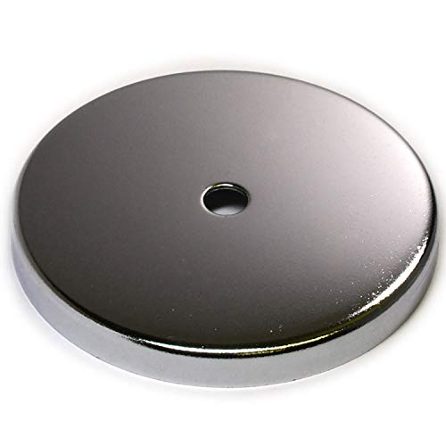 1 ct CMS Magnetics up to 210 LB Holding Power Round Base Magnet RB90 4 7/8 Cup Magnet