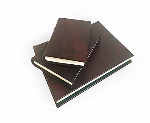 Classic Handmade Leather Journal - Refillable (Medium) by Epica