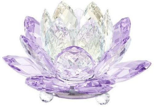 (Swarovski - Waterlily Candleholder Violet - 5066011)