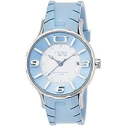 NOA watch IRIS white dial blue index Quartz IRIS002 Men's [regular imported goods]