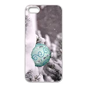 The Christmas Lamp Hight Quality Plastic Case for Iphone 5s