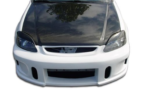 1999-2000 Honda Civic Duraflex JDM Buddy Front Bumper Cover - 1 Piece - Jdm Honda Civic Buddy