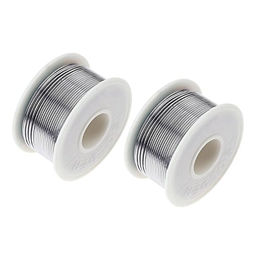 Welding Wires - 100g 60 40 1mm 1.2mm Rosin Core Tin Solder Wire Welding Flux Line Reel - Solder Wire Welding Wires Solder Wire Thin Cover Seat Rosin Core Lead Fuji Xerox Fuser Past Weld Flux Ca ()