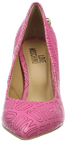 Love Moschino Bailarinas para Mujer Rosa (pink 604)