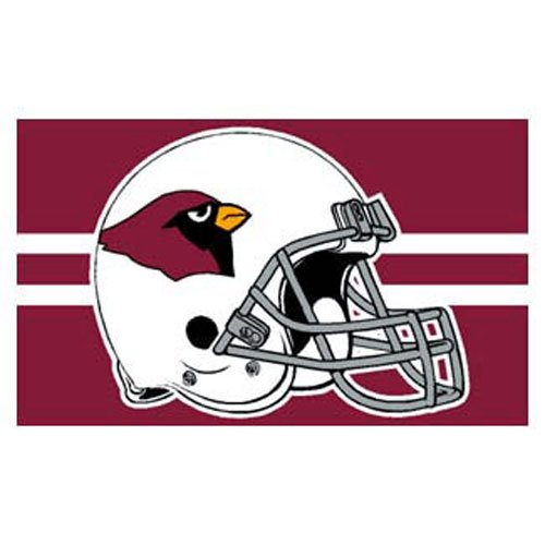 WinCraft NFL Arizona Cardinals 3-by-5 foot Logo Flag from WinCraft