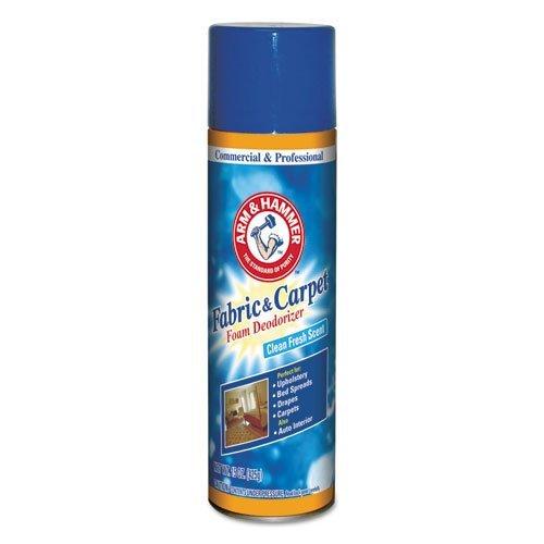 Arm & Hammer Fabric and Carpet Foam Deodorizer Can, 15 oz (2-Pack)