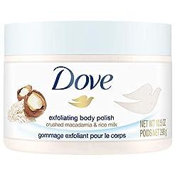 Dove Exfoliating Body Polish Body Scrub,...