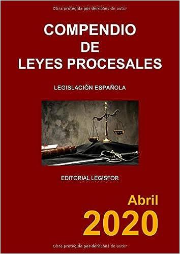 Compendio de Leyes Procesales: Amazon.es: Legislación española: Libros