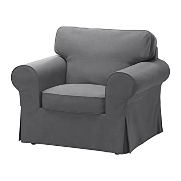 Awe Inspiring Ikea Chair Cover Nordvalla Dark Gray 1828 8811 234 Machost Co Dining Chair Design Ideas Machostcouk