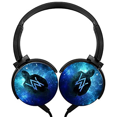 LSCX007 Alan_W Portable Over Ear Wired Extra Bass Adjustable Headphones Headset USB Charger Built-in Mic Microphone For Kids Adults With Computer/Cell Phones/ TV Gaming