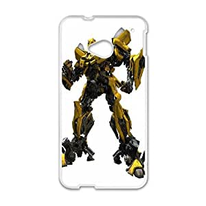 Bumblebee HTC One M7 Cell Phone Case White phone component AU_583486