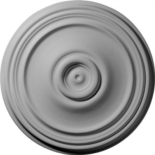 Ekena Millwork CM21RE 21-Inch OD x 3 3/4-Inch ID x 1 1/4-Inch P Reece Ceiling Medallion by Ekena Millwork