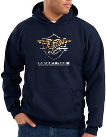 Amazon.com: US Navy Seal Hoodie Sweat Shirt - Patriotic Adult ...
