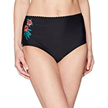 Coastal Blue Women's Swimwear High Waist Bikini Full Coverage Bottom