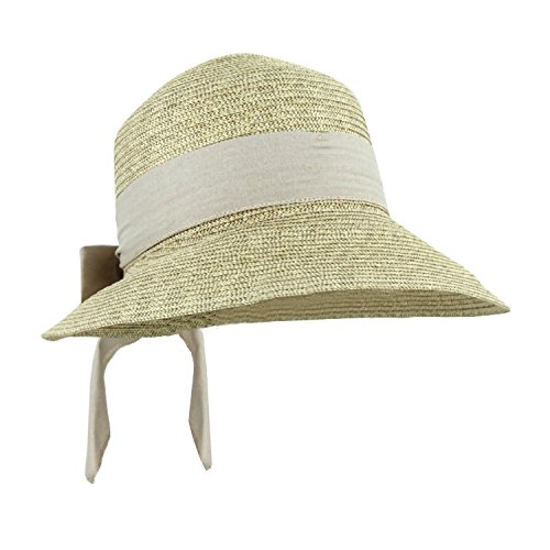 khaki-sash-straw-packable-sun-hat-women-wide-front-brim-smaller-back-spf-50