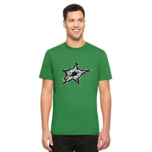 NHL Dallas Stars Men's '47 Crosstown Flanker Tee, Kelly, Large -