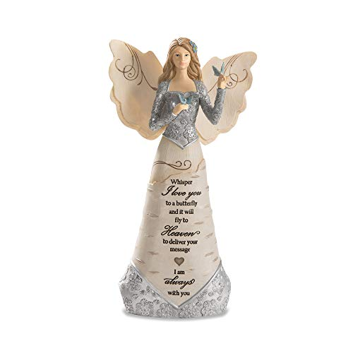 Pavilion Gift Company Whisper I Love Will Fly to Heaven to Deliver Your Message-I Am Always with You 9
