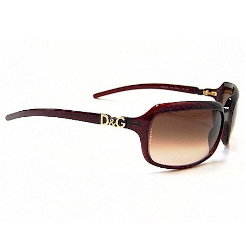 a3012433f0c7 Dolce   Gabbana 2192 D G Red K74 Sunglasses Red Gradient Lenses Size   62-17-115  Amazon.co.uk  Clothing