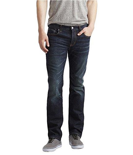 Aeropostale Mens Reflex stretch Slim Straight Leg Jeans 189-2 27x28
