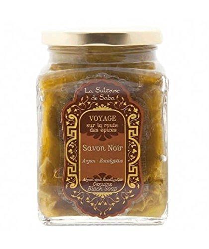 Savon Noir - Argan et Eucalyptus - La Sultane de Saba