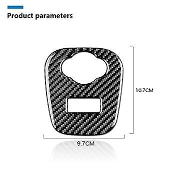 Navigation Screen Frame Trim Sticker Carbon Fiber Interior Decoration Decal Frame Cover Trim Stickers For Mini Cooper ONE//S//JCW F56 Hatchback