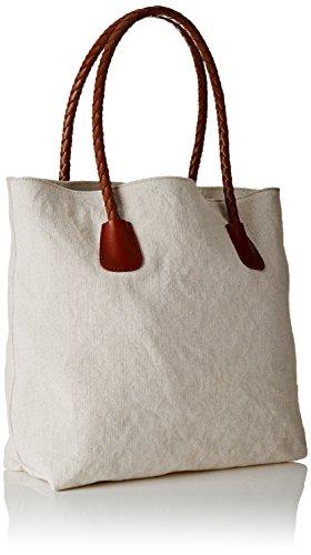 Timberland Tb0a1d2j, Bolso para Mujer, 15.5x34x38 cm (W x H x L) Marfil (Antique White)