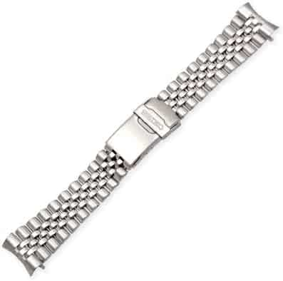 Seiko Jubilee-Style (22mm, Stainless Steel)