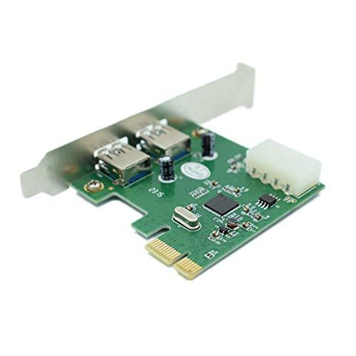 Amazon.com: Computer Cables 2-Port USB 3.0 Low Profile PCI ...