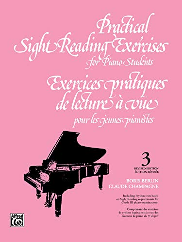 Practical Sight Reading Exercises for Piano Students, Bk 3