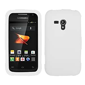 Asmyna SAMM830CASKSO001 Soft Durable Protective Case for Samsung Galaxy Rush M830 - 1 Pack - Retail Packaging - White
