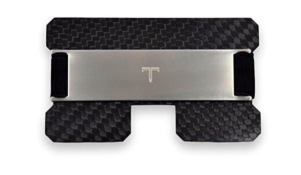 Tribe - Cartera minimalista de fibra de carbono con bloqueo ...