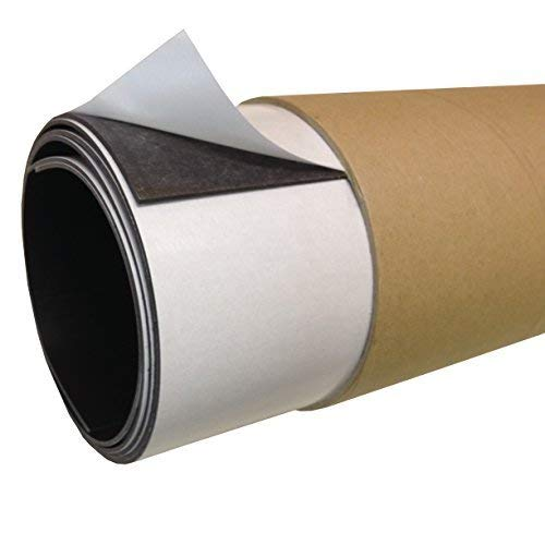 610mm x 365mm [approx. A2] Self-Adhesive Magnetic Sheet 1.5mm Extra Thick Strong Pull Flexible Rolls Magnet THE MAGNET SHOP
