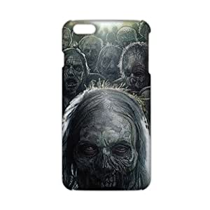 Evil-Store Walking dead scary walker 3D Phone Case for iPhone 6 plus