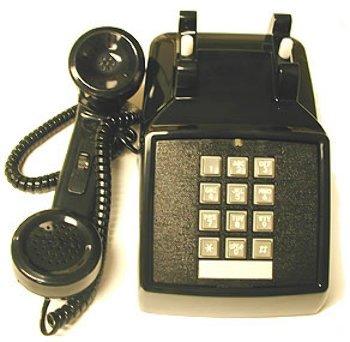 Double Gong (250000-Vba-20M Desk W/ Volume Black * - Cortelco Traditional Desk Phone- Tone Dial - Double-Gong Ringer- Ringer Volume Control- Analog Volume Control On Handset (Volume Wheel)- 5 Year)