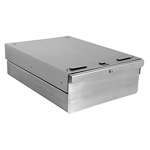 Kennedy Series Stainless Steel Drawer, 14.5'' Width x 20'' Depth, 6'' Height
