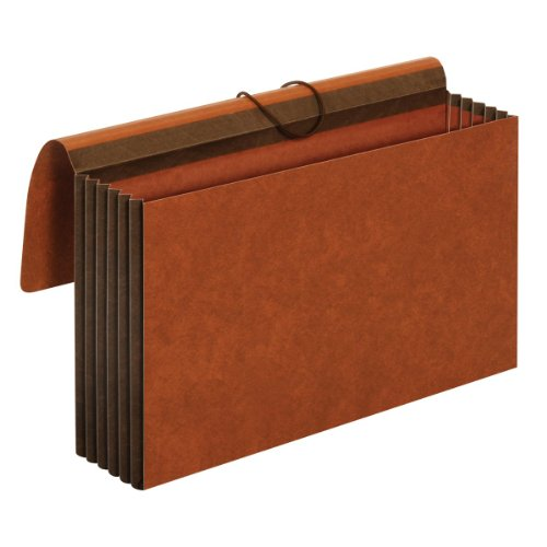 Globe Expandable Wallet (TOPS Globe-Weis Extra Wide File Wallet, 5.25 Inch Expansion, Straight Cut, Redrope, Legal Size, Brown (CL1077GLHD))