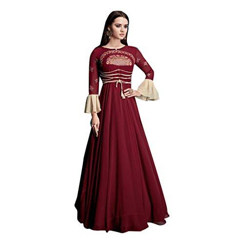 firmato EMPORIUM XL L lungo indossare abito 2853 ETHNIC Abito con donna Abito taglia da da Kurti Vestito da ZfaIRRqwnd