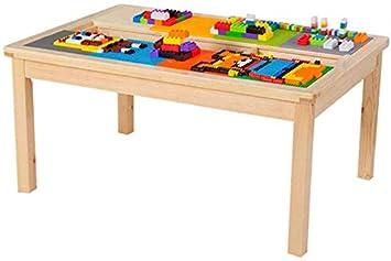 ZZYYHH Mesa de Madera para niños 1-2-3-6 años Mesa de Comedor de ...