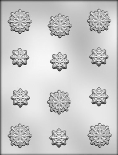 CK Products Snowflakes Chocolate Mold (Snowflake Chocolate Cakes)