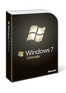 Microsoft Windows 7 Ultimate, Full Version  (PC DVD), 1 User
