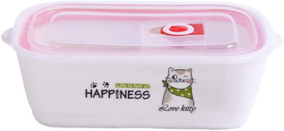 LALLing Kawaii Animal Ceramic Lunch Box Bowl Bento Lunch Box ...