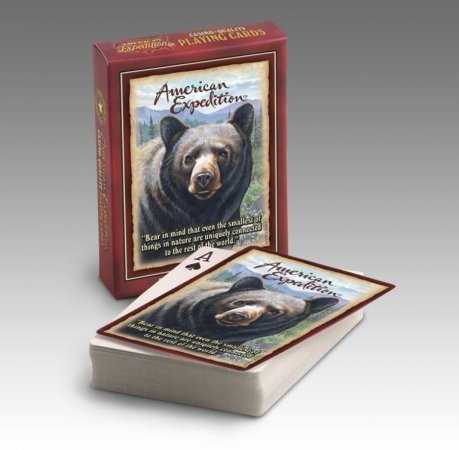 Wildlife Playing Cards (Black - Reptile Playing Cards