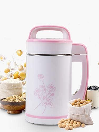 QFF Petite Maison Soymilk Machine Juicer Portable de Grande capacité Multifonctions Juicer 1.8L (Rose)