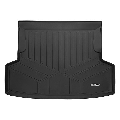 Sti Trunk - SMARTLINER All Weather Cargo Liner Floor Mat Black for 2014-2018 Subaru WRX / WRX STI