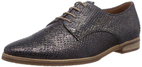 Donna Derby Basse Stringate Gabor Hell Scarpe Schwarz sohle Schw Nero Shoes nqUpBF