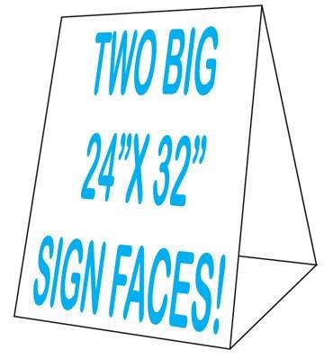 "Corex Roadside 24""x32"" Tent Sidewalk Sign"