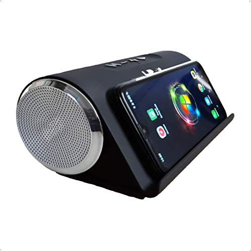 Bluetooth-luidspreker, draadloos, 80 dB, subwoofer, draagbaar, SuperBass voor smartphones, tablets, computers Art Tech…