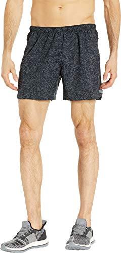 Brooks Men's Sherpa 5'' Shorts Black Static/Black Medium 5 by Brooks (Image #3)