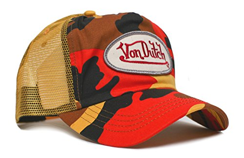 von-dutch-originals-unisex-adult-trucker-hat-one-size-yellow-camo-vdo-yelw-camo